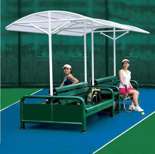 Double Sided Tennis Court Chair Set Net World Sports