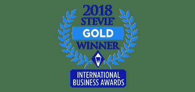Stevie Gold Winner 2018