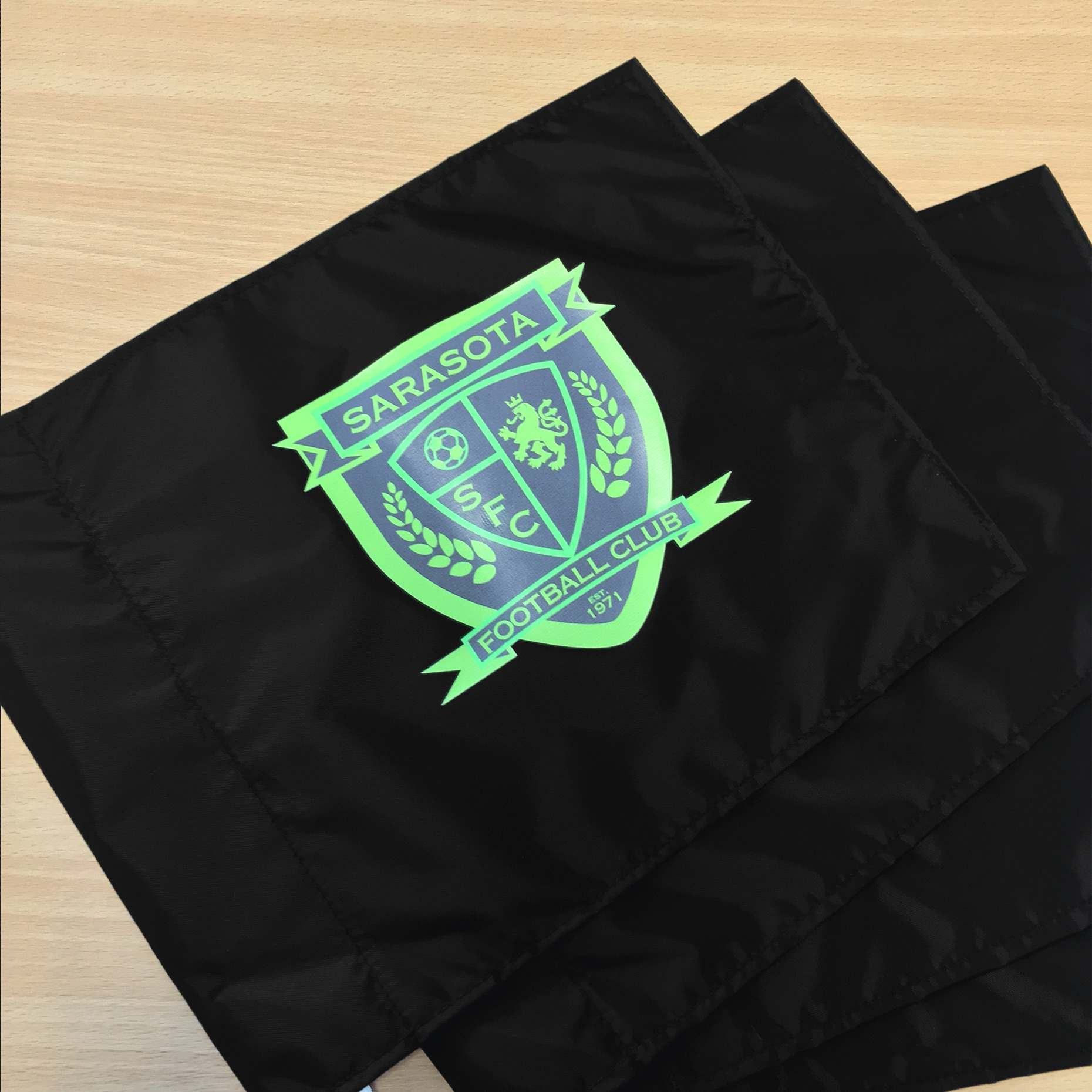 Customisable Football Corner Flags In Packs Or One, Four or Six
