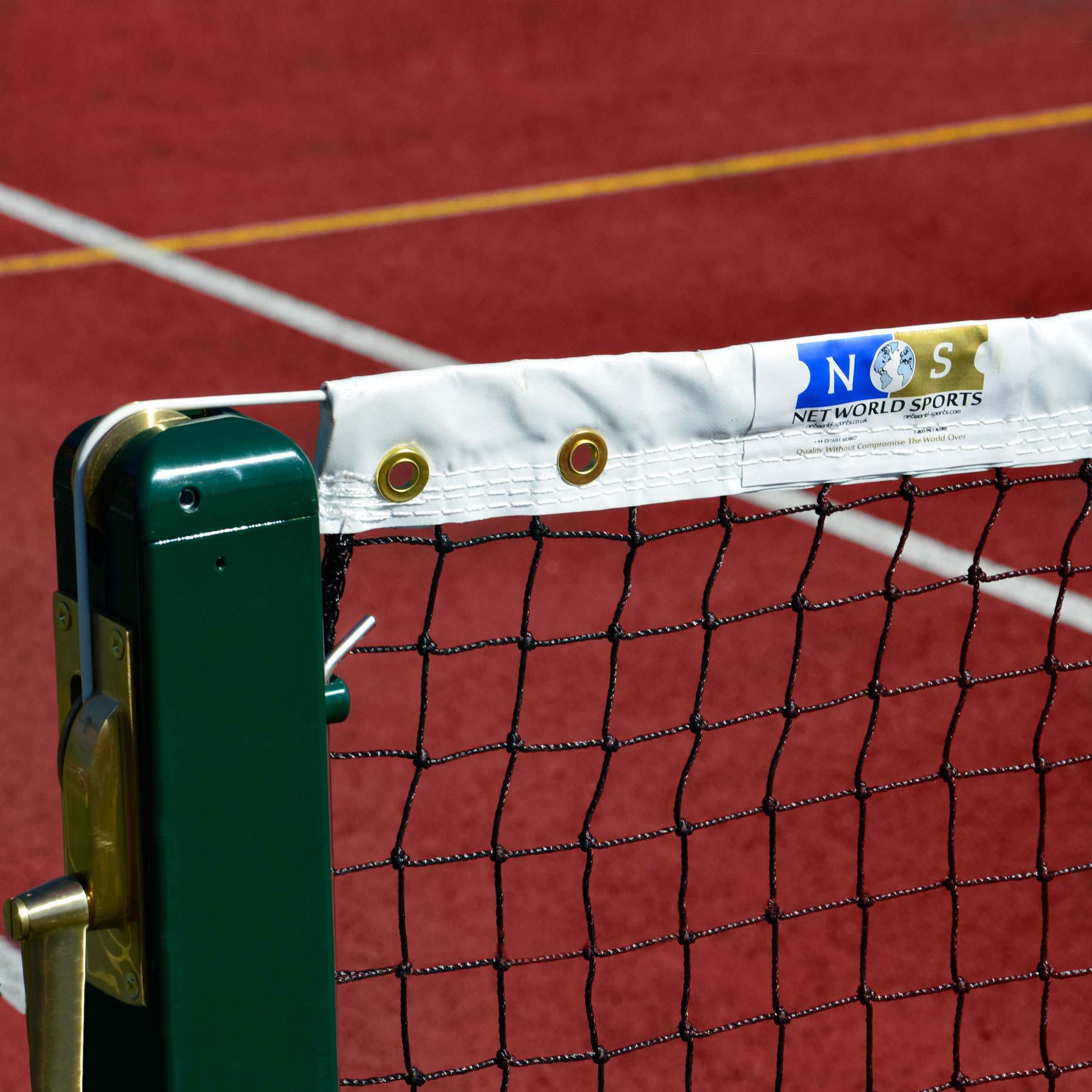 2.5mm Tennis Net Banding & Eyelets